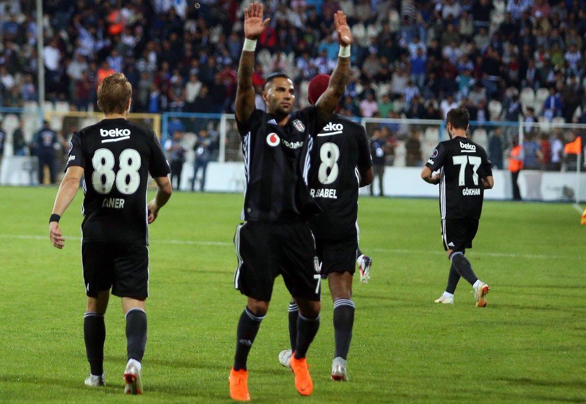 Süper Lig l O Besiktas até começou perdendo para o Erzurum BB fora de f0ee404815981