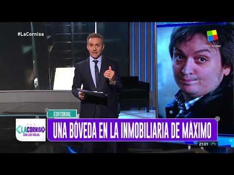 #LaCornisa reveló el video de una bóveda en la inmobiliaria de Máximo Kirchner Foto