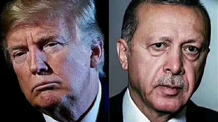 面对川普,埃尔多安终于怂了,答应立即放人,唯一条件是,恳请美国政府免除对一家土耳其银行数十亿美元的罚款,但遭白宫拒绝,没得谈,先放人再说。 厉害国会不会很失望?????????