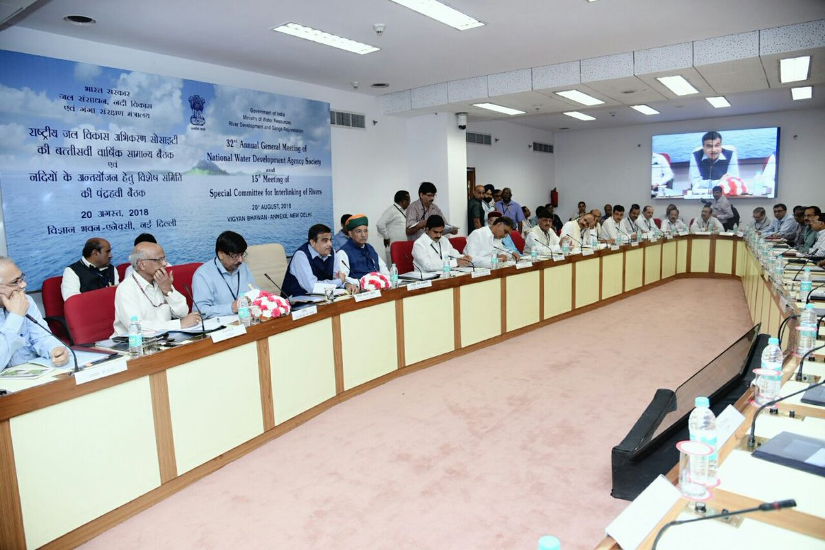 It would be very helpful in providing water to drought prone and rainfed farming areas and it will reduce the floods in the rivers. Our government is committed for implementing interlinking  of rivers programme with consensus and cooperation of the concerned state governments. <br>http://pic.twitter.com/FYiEtSd4if