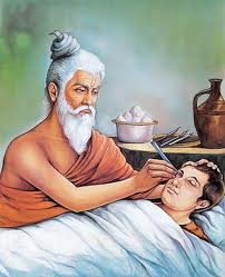 Susruta (सुश्रुत) is believed to be the descendant of Vishwamitra. He was born about 2,600 years ago. He was a disciple of Divodasa Dhanavantari and took knowledge of surgery and medicine from him at Kashi. Later, he gained expertise in surgery and other branches of medicine 1/x <br>http://pic.twitter.com/ju8k4n7fQ5