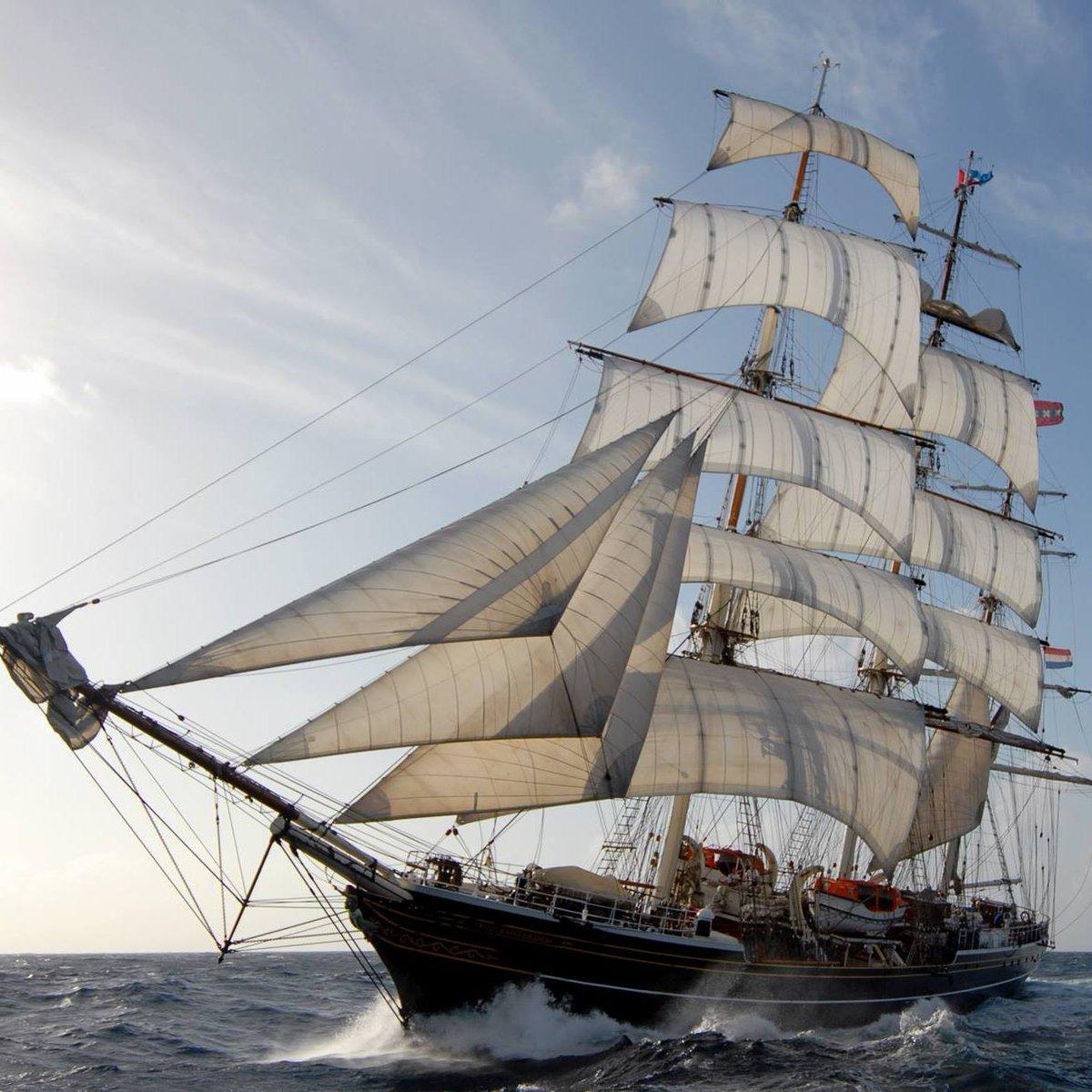 Le grand voilier @Stad_Amsterdam fait escale à #Bordeaux cette semaine de jeudi à dimanche. Des visites gratuites seront organisées dimanche de 9h à 13h ! https://t.co/acvawFQFff