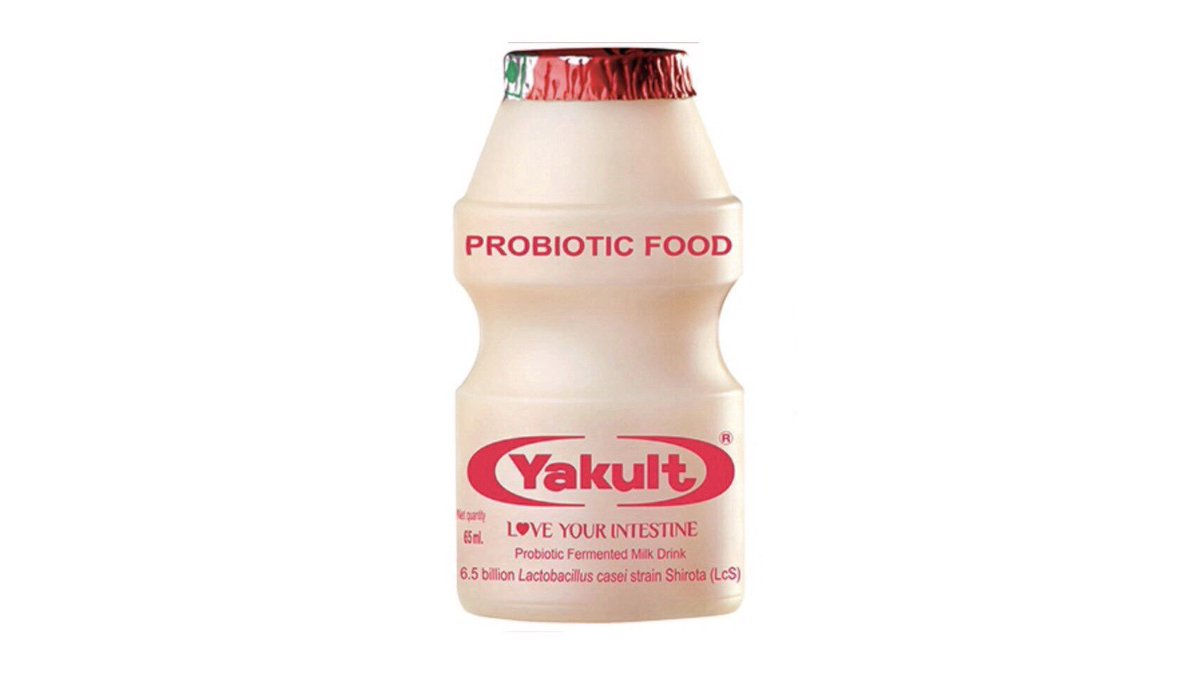 What do y'all call this?? RT if yakult FAV if Korean yogurt smoothie tryna prove a point