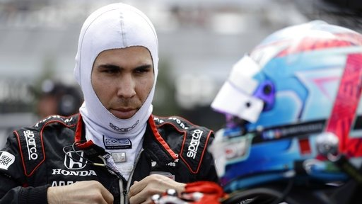 IndyCar driver Wickens flown to hospital after scary crash bit.ly/2PoHzUE