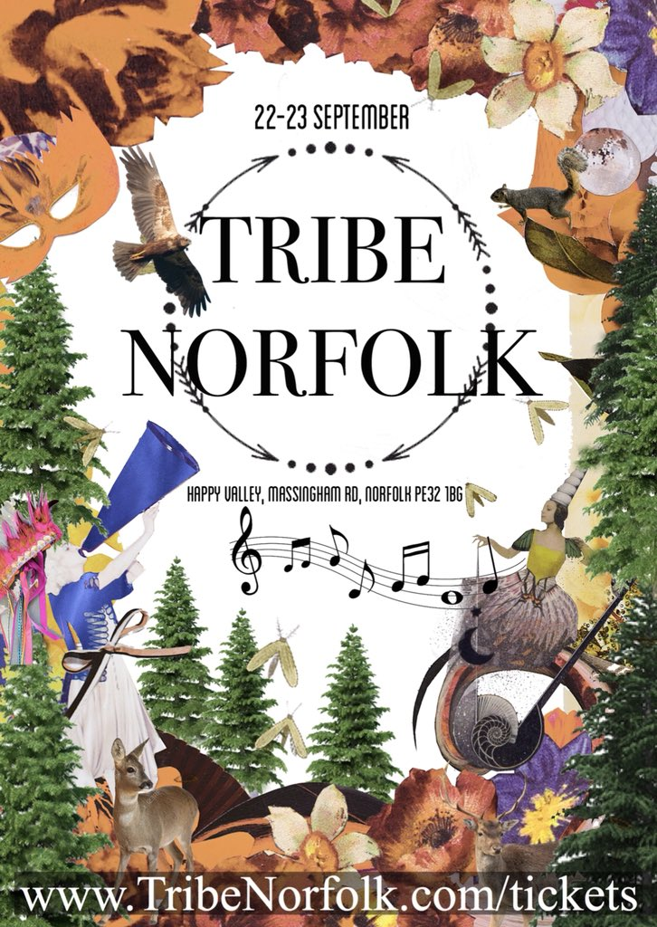 So if you haven't already heard. There's going to be a Festival for the whole family. Inspired by Norfolk for all who love Norfolk 22-23 September at Happy Valley @norfolkvenue #livemusic #wellness #shopping #norfolkhour #lovewestnorfolk #workshops #bar #jakemorrell #glamping