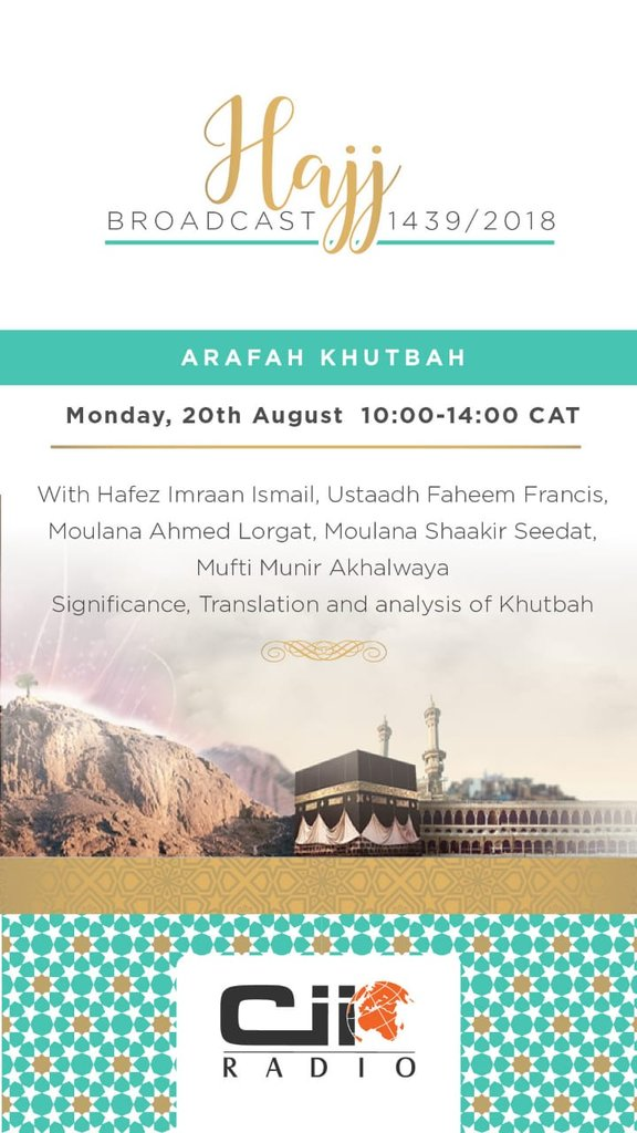 Channel Islam Int On Twitter Coming Up Next On Ciiradio