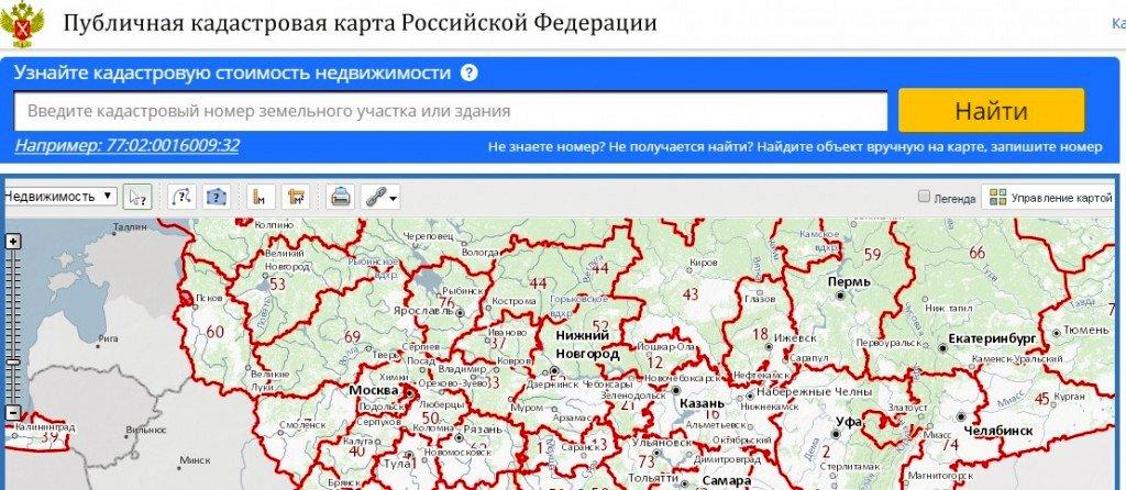 Публичная кадастровая карта города хабаровска