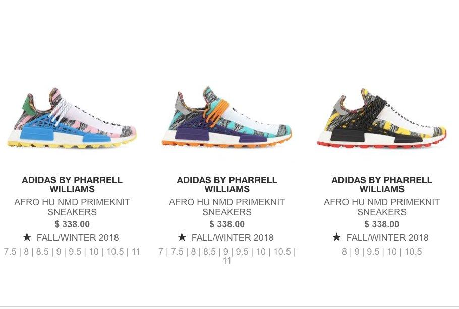 primo sguardo outlet online grande vendita adidas pharrell