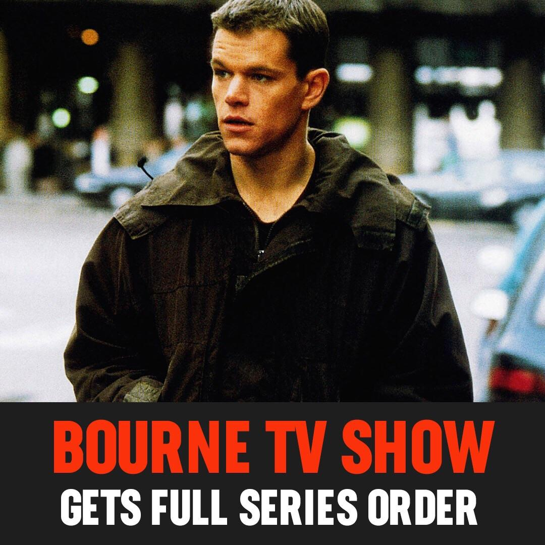 Without even producing a pilot, USA has given a full series order to #Treadstone - the upcoming show based on the 'Bourne' franchise