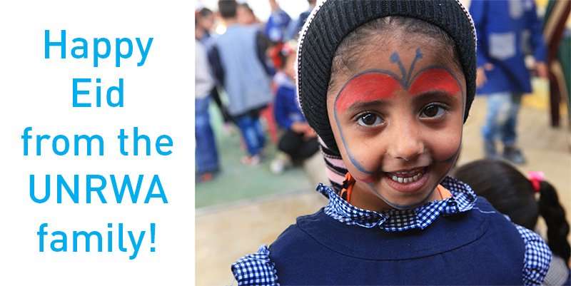 Happy Eid from the UNRWA family!