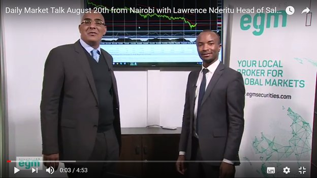&#39;&#39;It&#39;s impossible to sell-off the Lira right now...they have completely squeezed liquidity...we&#39;re looking at an S&amp;P downgrade now...it was going to happen in one way...&#39;&#39; says @egm_securities Head of Sales Lawrence Nderitu in today&#39;s Daily Market Talk   https://www. youtube.com/watch?v=YV1OPc Byc_Y&amp;feature=youtu.be &nbsp; … <br>http://pic.twitter.com/ubG28sCcgZ