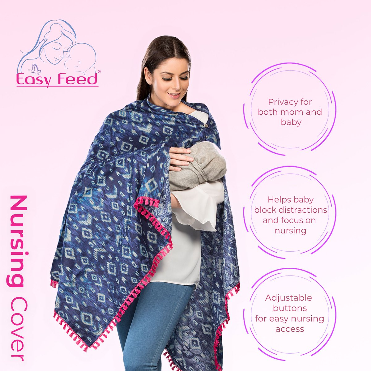 Becoming a Mother makes you realize you can do anything! Show your love for baby in Easyfeed Nursing Style. Shop the look at http://www.easyfeed.in  #EasyFeed #momtobe #moms #maternityfashion #maternitystyles #maternitydresses #dressesforwomens #preggers #nursing #dressespic.twitter.com/1AjZOQfSxT