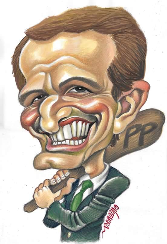 Lo sabemos, la estábais esperando. Caricatura de @pablocasado_ esta semana en @eljueves.