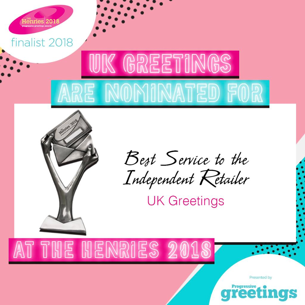Createvents ltd createvents twitter uk greetings are honoured to be nominated for the best service to the independent retailer award at the henries18 read more about our nomination at m4hsunfo