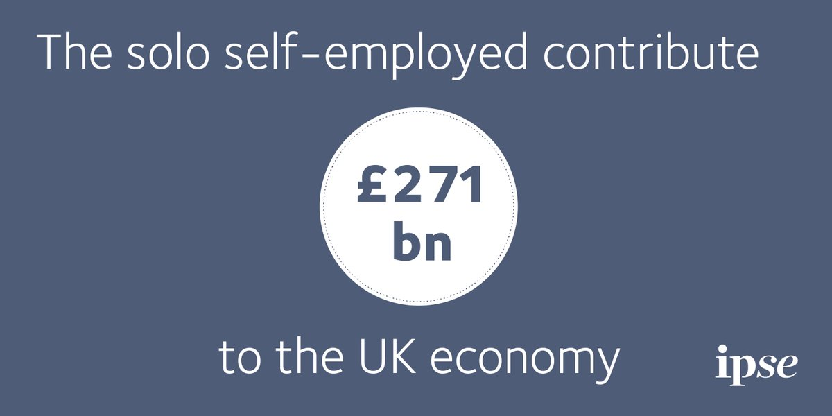 Self-employed, contractors, freelancers, independent professionals... Whatever name you go by, you help contribute a staggering £271 billion each year to the UK economy - enough to fund the NHS twice! <br>http://pic.twitter.com/idZvmcVeaU