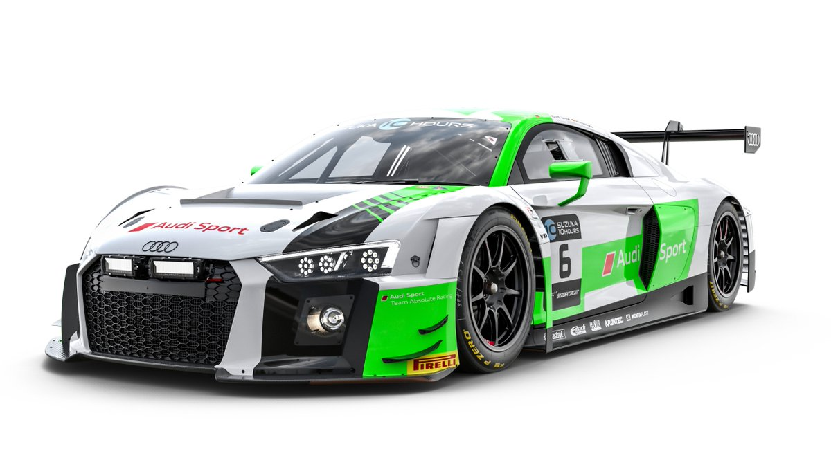 audi our entries for the 2018 audi r8 lms 6 audi. Black Bedroom Furniture Sets. Home Design Ideas