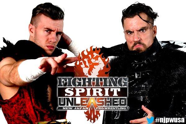 "NJPW: Primeras luchas para ""Fighting Spirit Unleashed"" en EU 3"