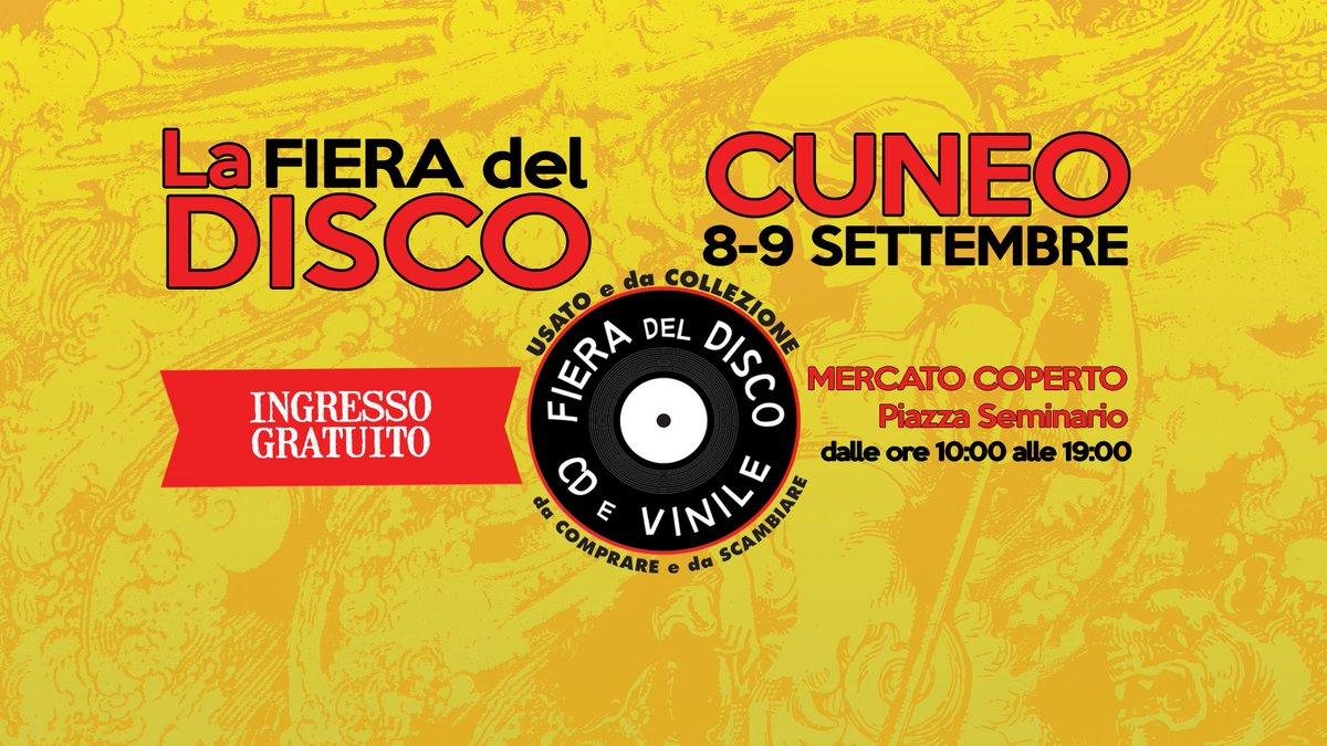 #cuneo stiamo arrivando! #ernyaldisko #fieradeldisco #vinyl #vinylcollection #vinylrecords #vinylrevival #20agosto #music #piemonte #CD #rock #summer #summer2018 #estate #lunedi #buongiorno  - Ukustom