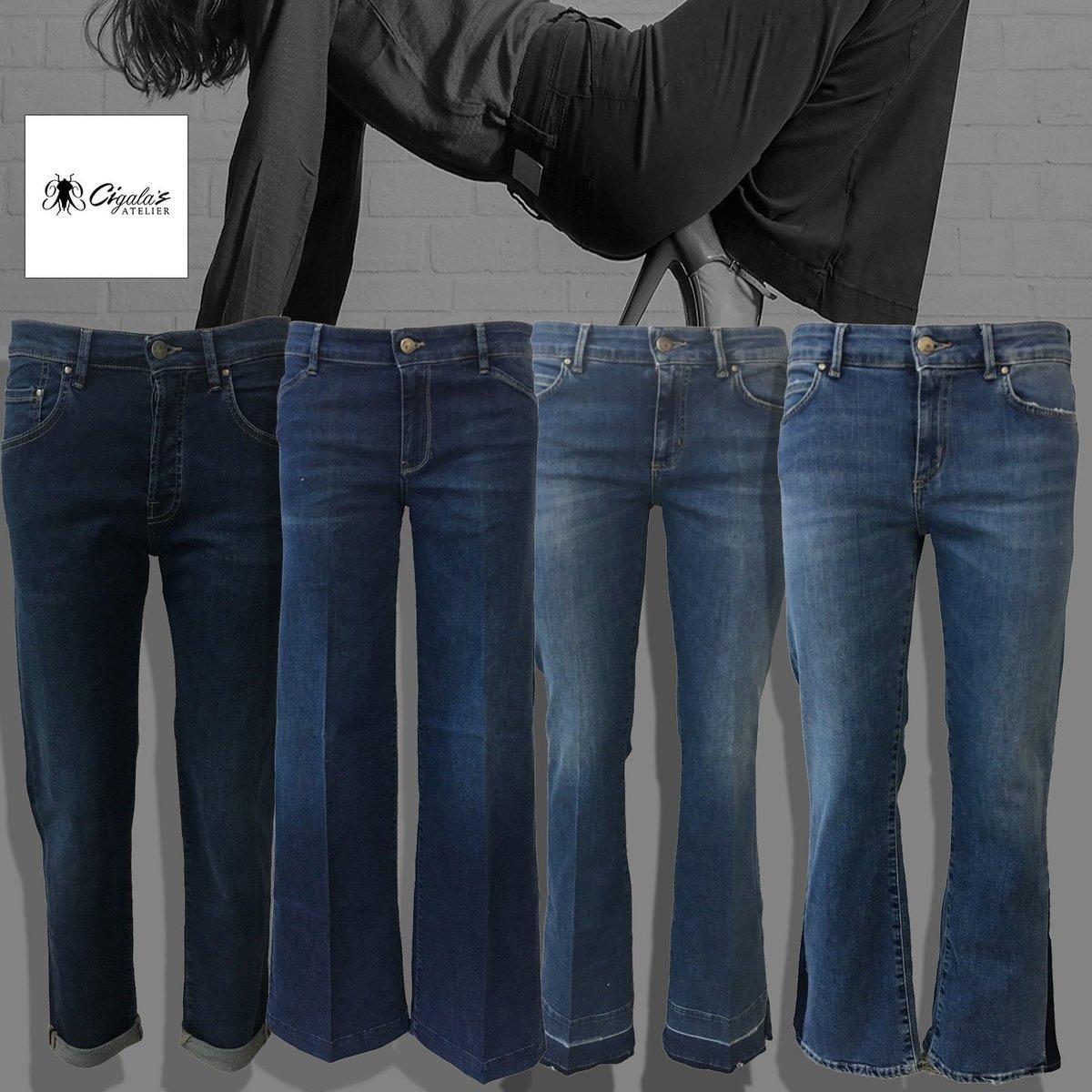 Scegli La tua #ombra #ateliercigalas#jeans #boyfriendjeans #denimstretch #palazzojeans #fourpockets #widejeans #croppedjeans #womanjeans #jeansfashion #jeansblogger #bloggerfashion #shoppingonline #infoinbio #alori1961 #morlupo #madeinitaly  http:// www.alori.it  - Ukustom