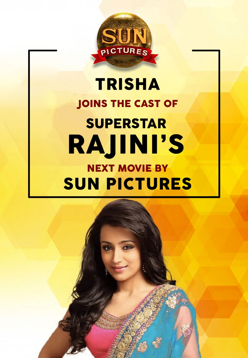 Trisha in Thalaivar 165