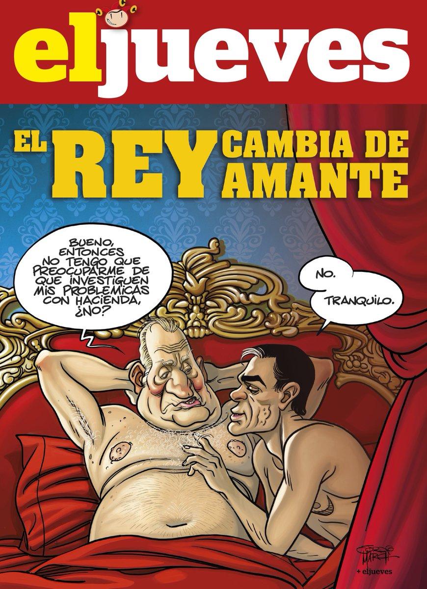 El PSOE bloquea las investigaciones sobre los chanchullos de Juan Carlos I. By @MarchDrawings