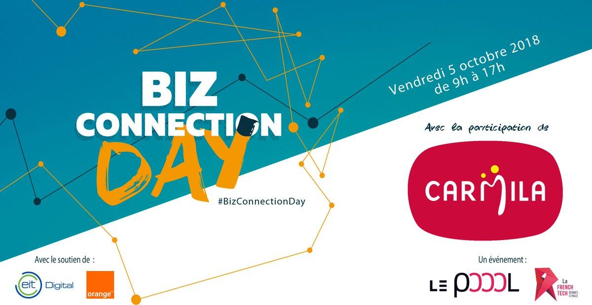 Rappel Biz Connection Day : la liste continue , Carmila foncière de @CarrefourGroup participe aussi au #BizConnectionDay ! https://t.co/Kht6ehf0Lq