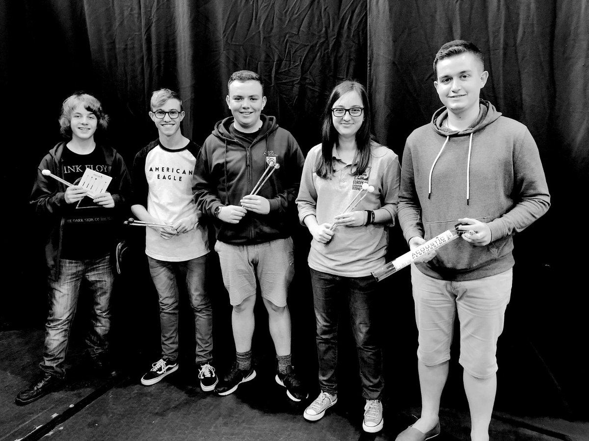Best of luck to the percussion section of the @uyoni as they head off on a European tour of Vienna and Bratislava, playing Bernstein&#39;s &#39;Candide&#39; and Gershwin&#39;s &#39;American in Paris&#39; amongst other pieces.  #AcousticPercussion #UYONI #Percussion #Starsofthefuture<br>http://pic.twitter.com/larPLIDXeW