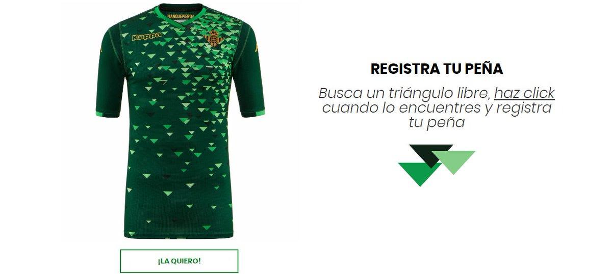¡Pincha en …betis-camiseta-segunda-equipacion.com y encuentra tu peña en la segunda camiseta! 🤩👪👕