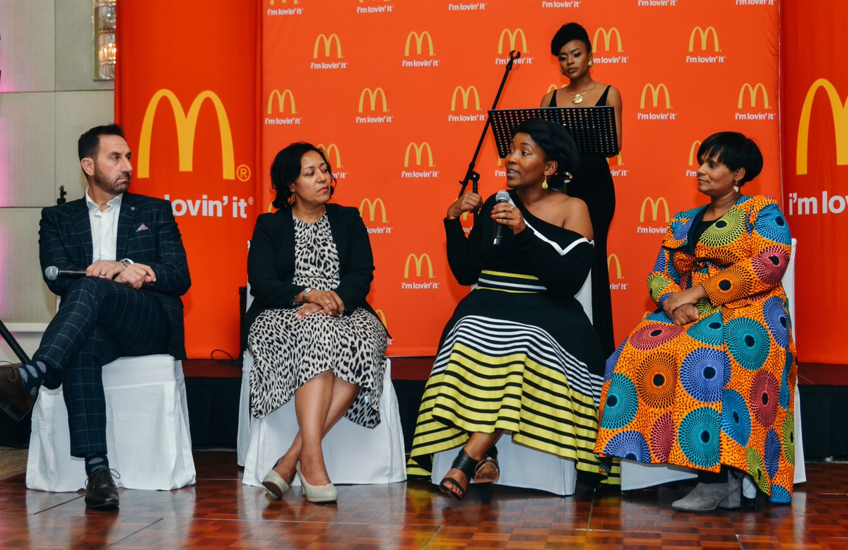 Thank you for honoring the pillars of society and families. Last Thursday was truly wonderful. @McDonalds_SA ❤️❤️#WomenInConversation