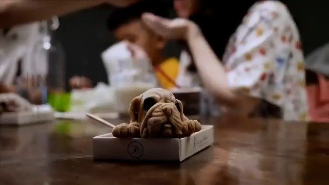 Taiwanese restaurant whips up puppy-shaped ice creams https://t.co/a2OlG5LU3r