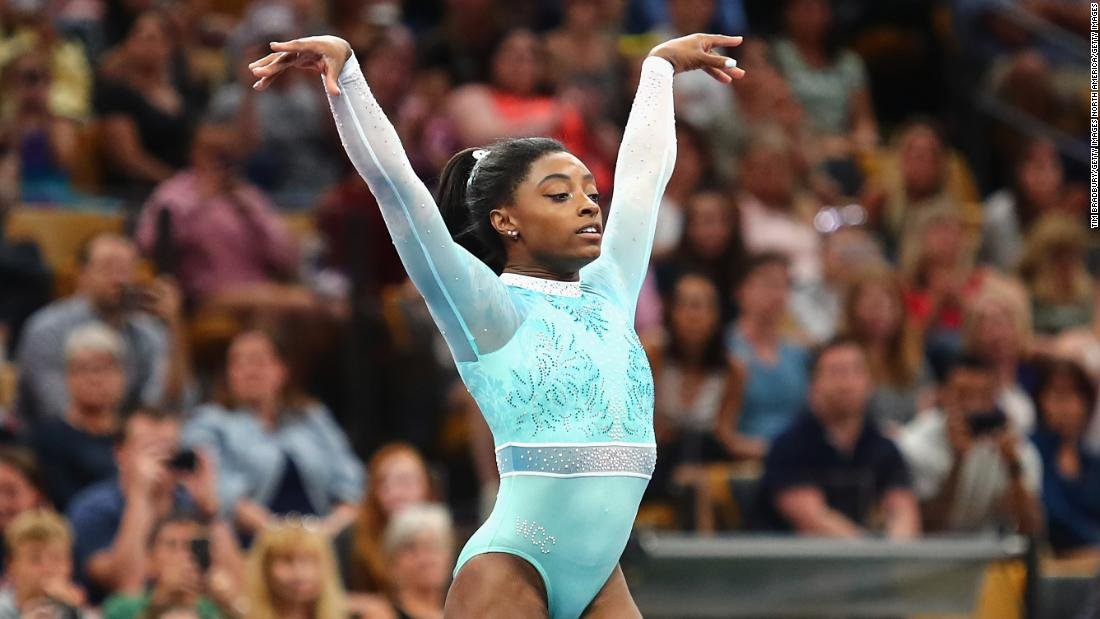 Simone Biles won every event at the US Women's Gymnastics Championships on Sunday cnn.it/2BrNGo3