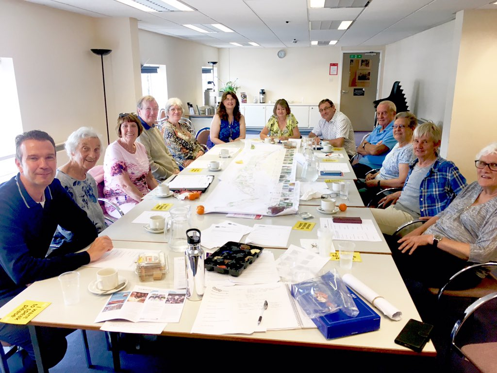 2weeks before we submit our bid to @HLFYandH and we&#39;d like to say a huge thank you to #Scarborough&#39;s @DementiaVoices group for making our garden designs #dementiafriendly! We couldn&#39;t have done it without your expertise &amp; passion #livingwellwithdementia #inclusion #communityled<br>http://pic.twitter.com/fDxBN76vO4