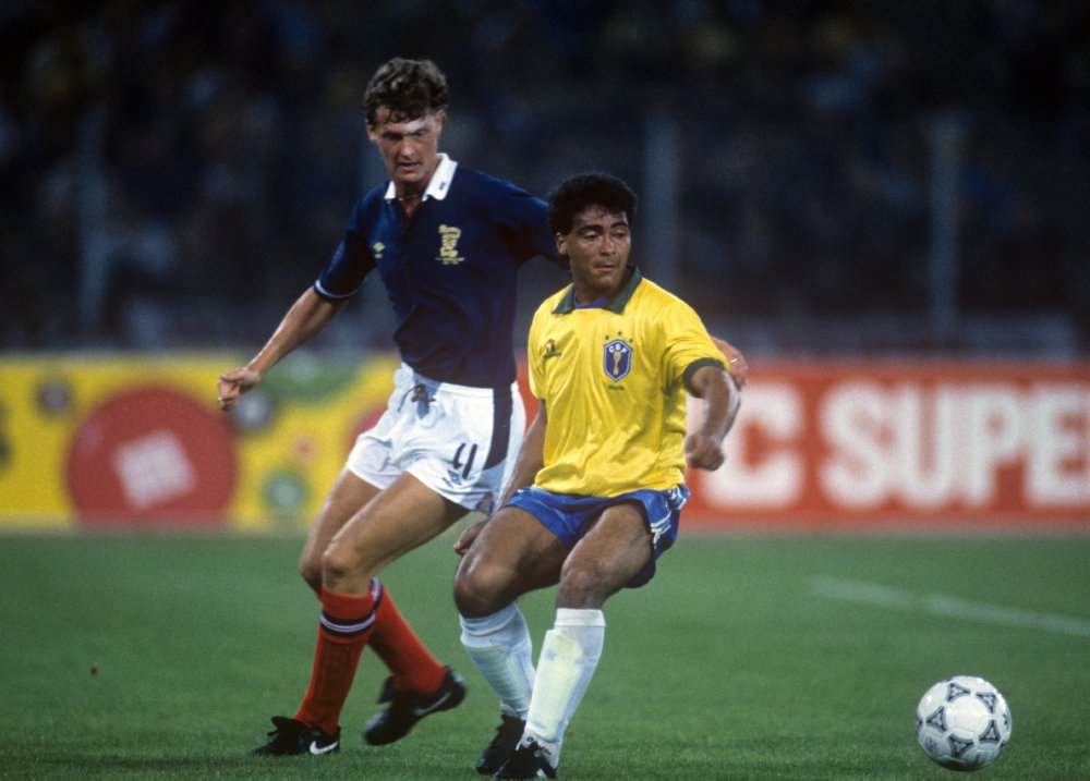 "90s Football on Twitter: ""Romario, Italia '90.… """