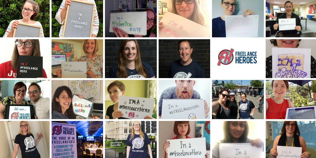 They&#39;re all #FreelanceHeroes, as are over 3700 others. Are you? If you&#39;re a freelancer based in the UK, then join us on now at  https:// buff.ly/2G9d7JX  &nbsp;  <br>http://pic.twitter.com/vOptvL0zxK
