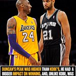 Image for the Tweet beginning: By any measure, Tim Duncan