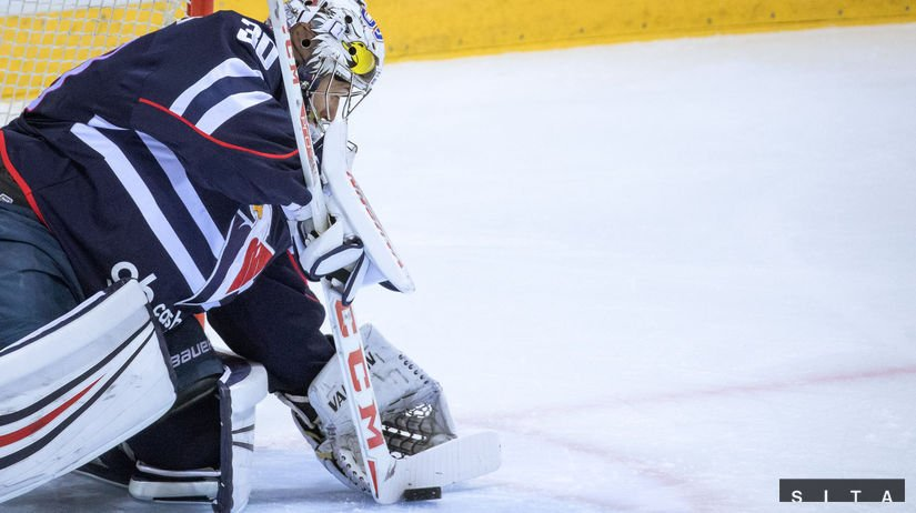 #hcslovan with goalie Jakub Stepanek in the net against @HCKometa today at 17:00pm. Tickets at: @ticketportalSK @khl_eng @khl #VerniSlovanu<br>http://pic.twitter.com/nDaZaylS7x