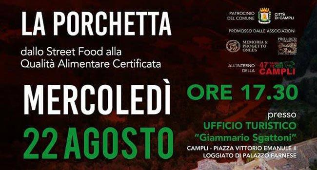 Campli, convegno sulla qualità certificata della Porchetta #abruzzo #notizie https://ift.tt/2vZITFn  - Ukustom