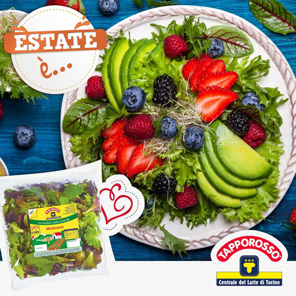 #Estate è... la tua #insalataMista arricchita con i tuoi ingredienti preferiti.  - Ukustom