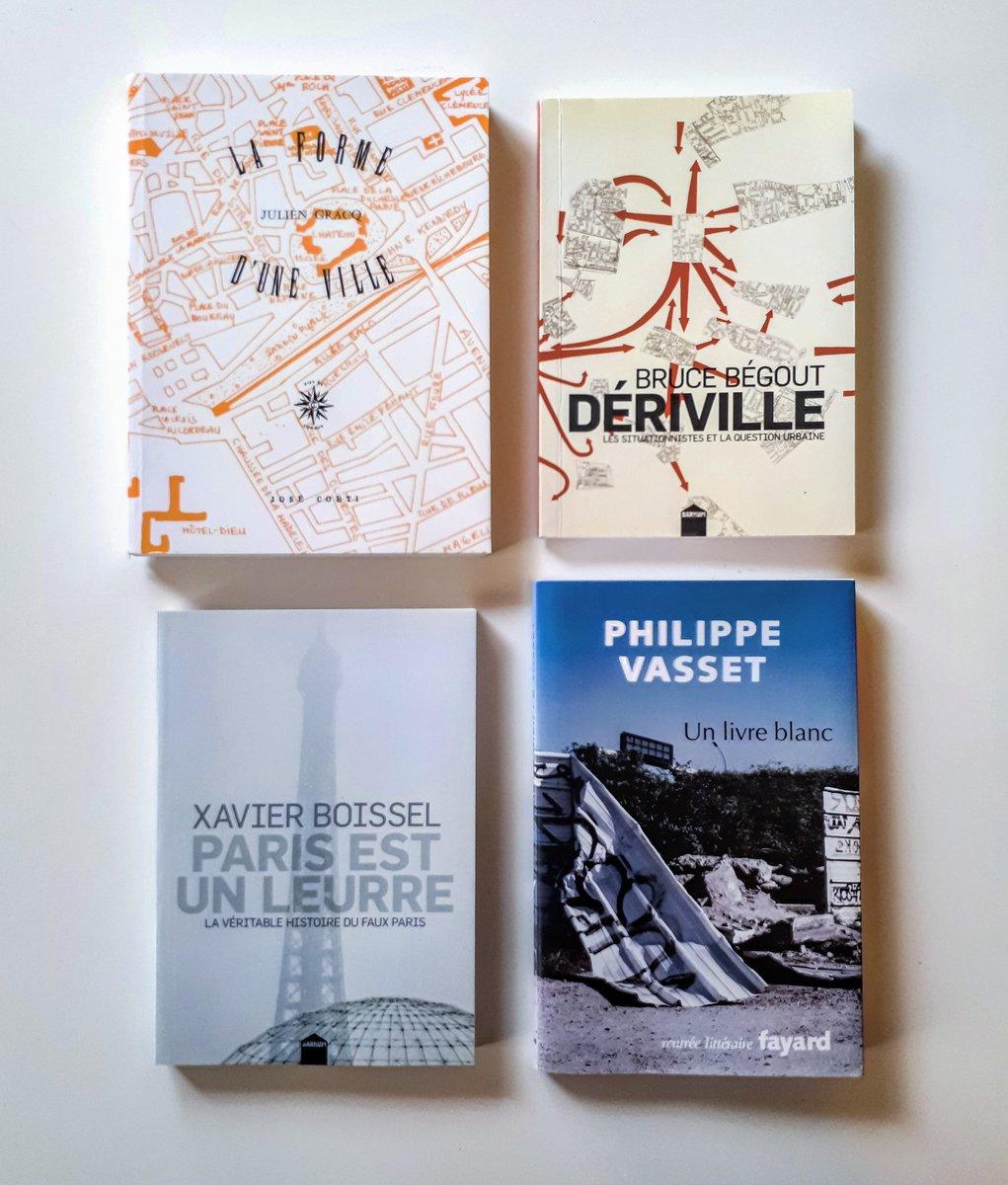 Camille Ammoun On Twitter Quatre Livres Sur La Ville L