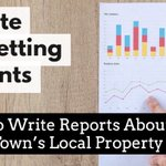 Estate / #LettingAgents – How To Write Meaningful Things about Your Local Property Market https://t.co/M9aS3EVy2m
