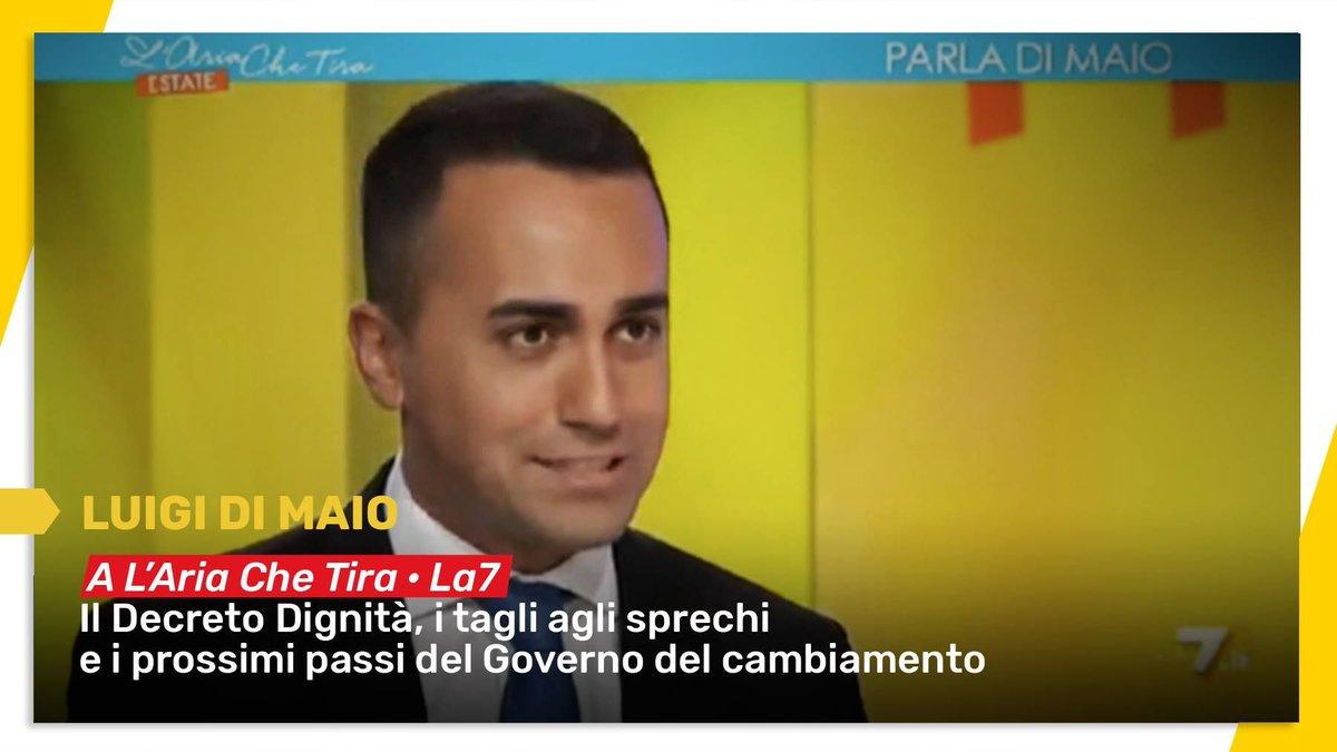 Il #DecretoDignità, i tagli agli sprechi e i prossimi passi del #GovernoDelCambiamento.Guardate il video di @luigidimaio   http://bit.ly/2MZI2uF  - Ukustom