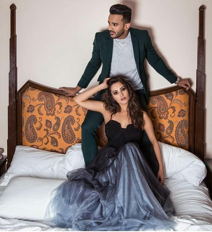 Don't they make for a classy couple?! . @anitahasnandani @rohitredz #AnitaHassanandani #RohitReddy #AnitaRohit #couplegoalspic.twitter.com/IYTMPFlLgB