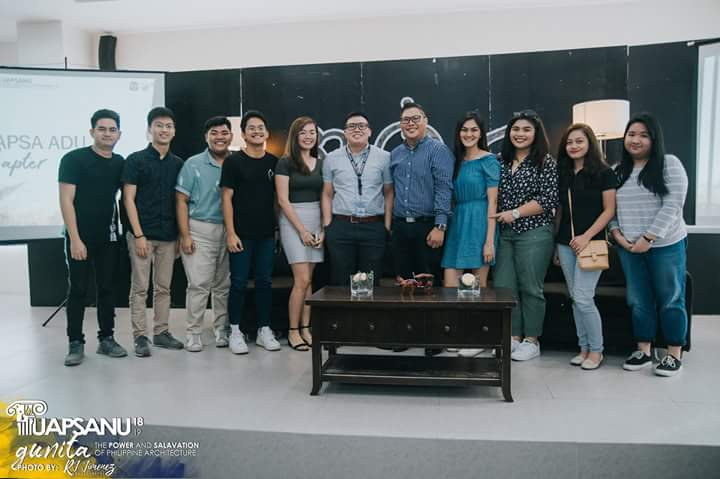 Thank you to UAPSA-NU for inviting us to GUNITA: The Power and Salvation of Philippine Architecture.  The event was held at 12th floor Annex Building, National University - Manila last August 18, 2018.  Photo credit to: @uapsa_NU<br>http://pic.twitter.com/Y951umfexw
