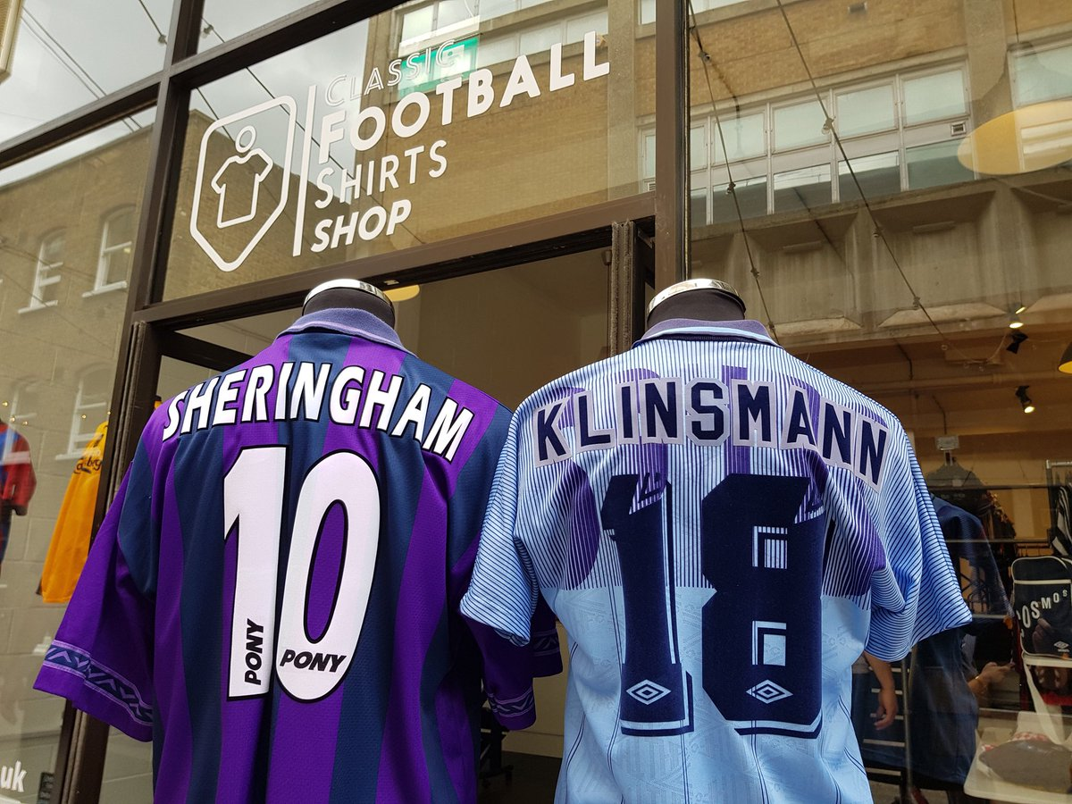 Lack of new signings to get on the back of your shirt?  We've got you covered. Plenty of @spursofficial legends available here on Dray Walk.  #COYS #CFSLDN #ClassicFootballShirts<br>http://pic.twitter.com/Y4yDOMnrFg