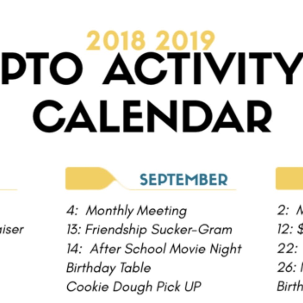 Mark your Calendar for September PTO events!<br>http://pic.twitter.com/1z3czoxcgt