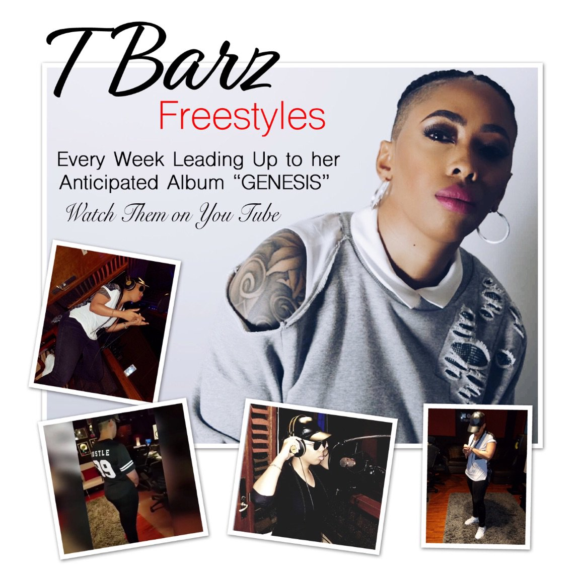 BSE Recordings Artist T BARZ @TBarzzzz Delivers real #hiphop Every week on Thursdays.. T BARZ the Best Female Rapper in the Game Today! #YouTube #SoundCloud #Spotify #iTunes #Alabama #LosAngeles #London #NYC #Cardi #Nicki #Radio #DJs