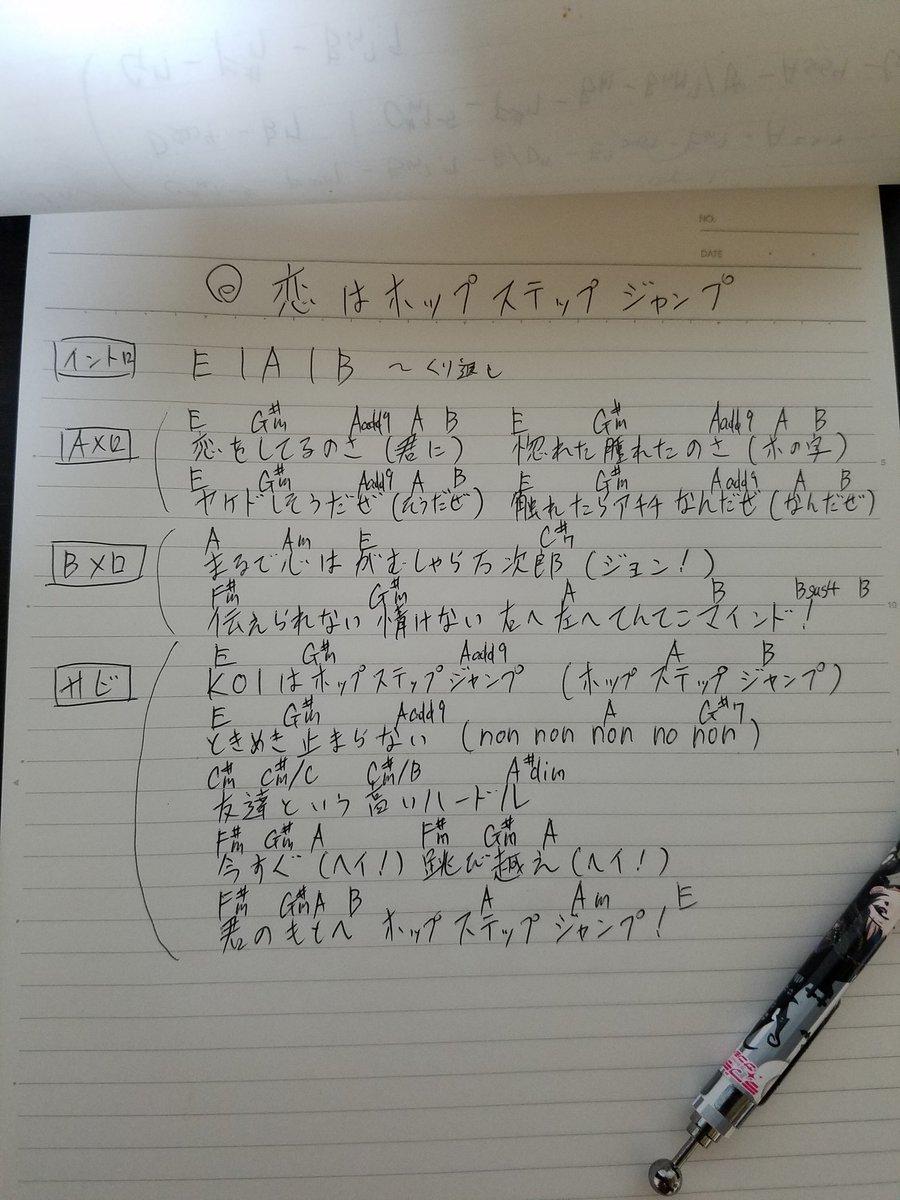 ジャンプ ホップ 恋 は 歌詞 ステップ 恋はホップステップジャンプ/雅マモル(16歳) by