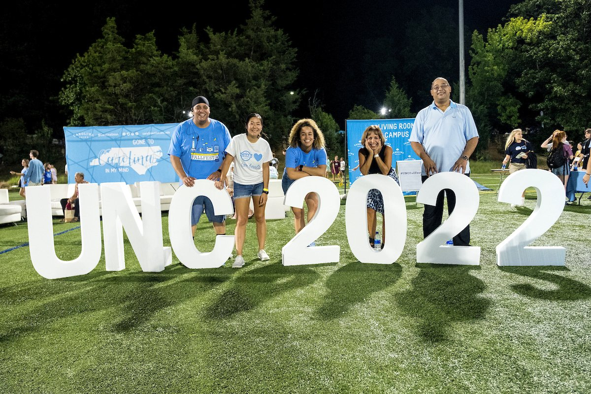 The rain never bothered #UNC22 anyway! Take a look at all the action from #UNCFallFest https://t.co/nOa15H3wXp