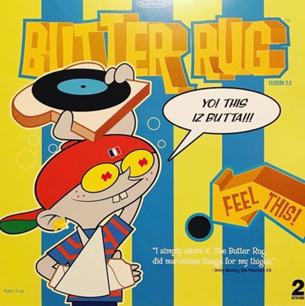 Dj Q Bert On Twitter New Butter Rugs 3 0 In Retro Cover Now 50