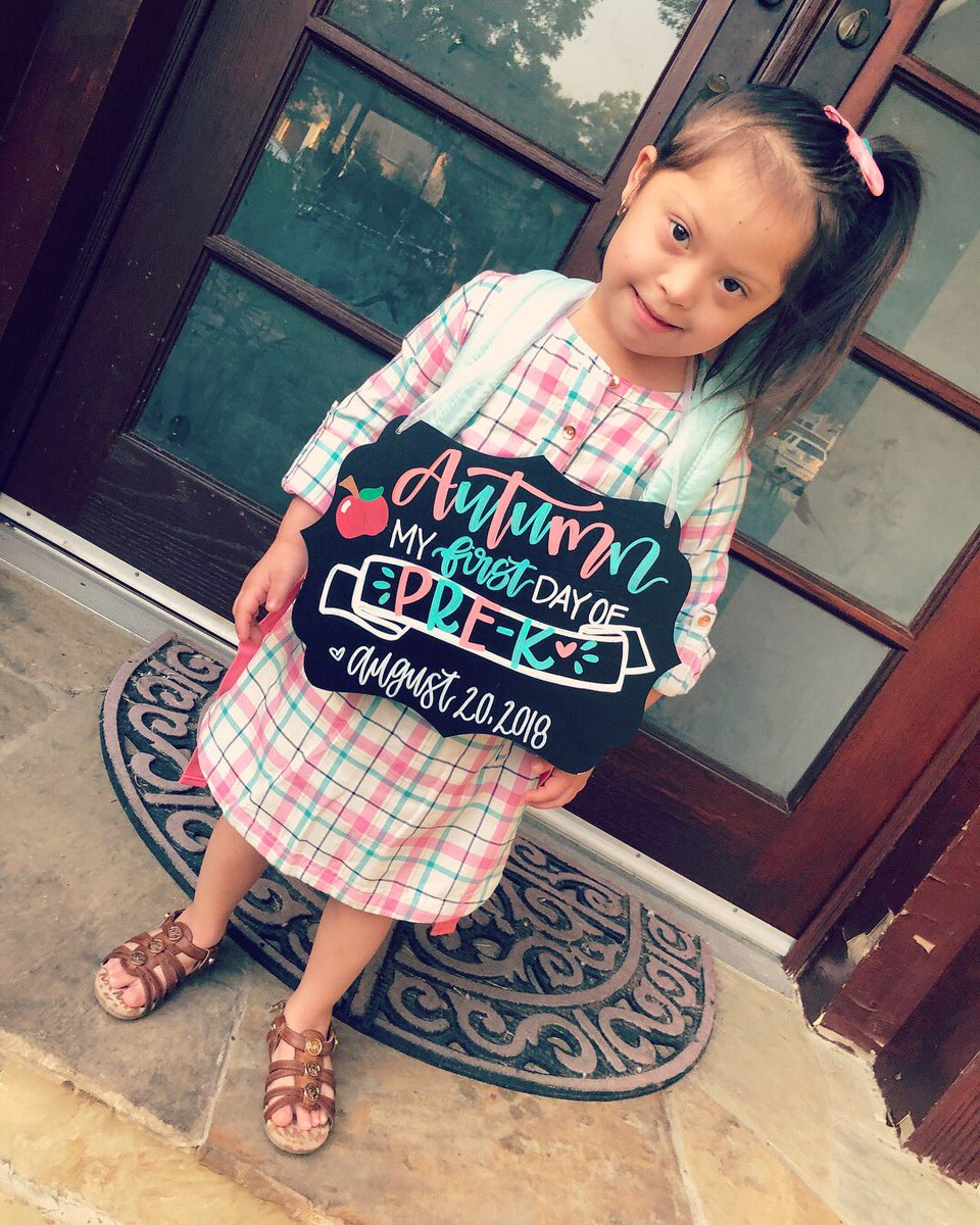 first day of pre-k for my baby  I hope you continue to learn and be the smart loving girl that i know  keep proving yourself mamas <br>http://pic.twitter.com/ngTxWbEs7U